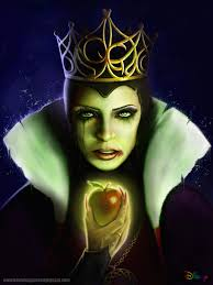 snow white evil queen re designed by kevmcgivernart