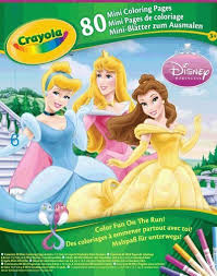 Small Picture Crayola Mini Coloring Pages Disney Princess by Crayola 599