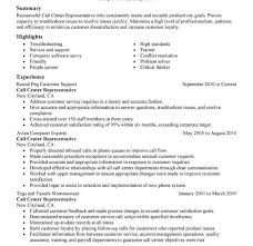 Download Customer Service Representative Resume Sample