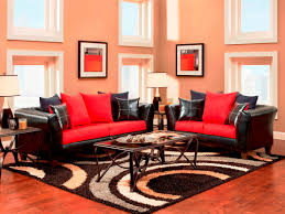 Yellow Black And Red Living Room Decor Black And Red Living Room Decor