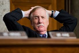 Nobody in Maine Asked Angus King for a Lecture on Bipartisanship | The  Maine Wire