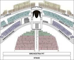 La Scala Seating Chart World Famous Bolshoi Ballet And Opera Theatre Established