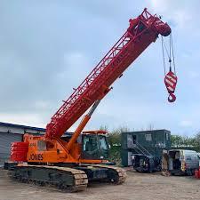 140 Ton Crane Load Chart Crawler Crane Hire Jones Crawler Cranes