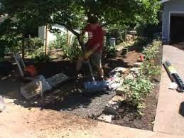 building a garden path you