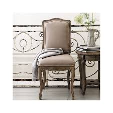 pair of avignon french dining chairs putty