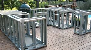 Cal Flame Outdoor Kitchen Island Frame Kit Icdocs With Regard To How To Build  Outdoor Kitchen Island Decorating ...