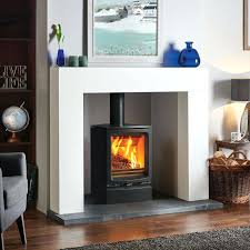 wood stove fireplace insert surround fire used burning inserts with er replacement