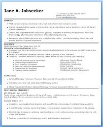 Pharmacy Technician Resume Examples Classy Resume For Pharmacy Technician Resume Ideas