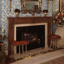 image for larger view the pimlico fireplace bench is a fender