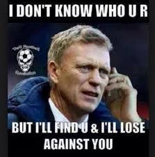 David Moyes loser. Moyes in re-take of classic Liam Neeson moment from Taken. Fans have seen United get taken eight times already this year. - david-moyes-loser