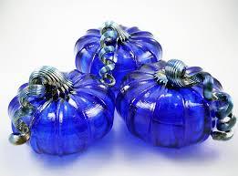pumpkins cobalt blue