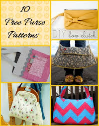 Purse Sewing Patterns Fascinating It's In The Bag Free Purse Sewing Patterns Craftfoxes