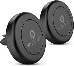 <b>Magnetic Phone Car Mount</b>, WizGear [2 Pack] Universal Air Vent ...