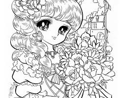 Small Picture Manga Collections Coloring Pages Gianfredanet