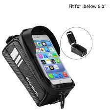 <b>ROCKBROS</b> Bicycle Bag Waterproof <b>Touch Screen</b> Cycling Bag Top ...
