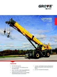Grove Grt8100 Load Chart Grove Grt8100 Specifications Cranemarket