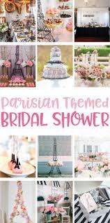 Parisian Themed Bridal Shower Ideas on Love the Day