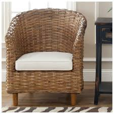 indoor rattan chairs. small wicker chair indoor chairs bamboo with wood legs white cushion rattan