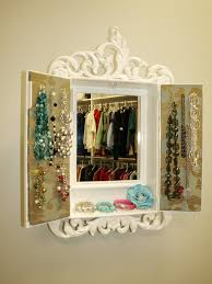 Diy Jewelry Cabinet Perfect Closet Jewelry Boxes Roselawnlutheran