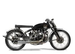 1951 vincent black lightning sets record at motorcycle auction