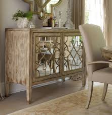 Mirrored Living Room Furniture Hooker Furniture Living Room Sanctuary Two Door Mirrored Console
