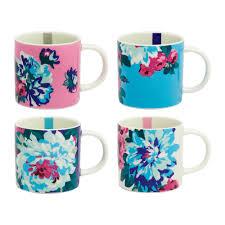 buy joules cuppa multi floral mug  set of   amara
