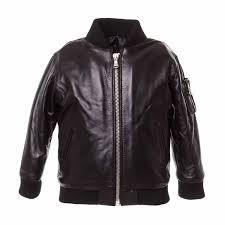 baby boy leather jacket 27568 nupkeet giacca in pelle neonato 1 jpg