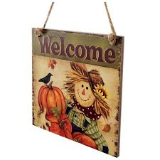 aliexpress com buy sdfc rustic wooden plaque thanksgiving