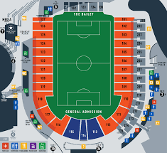 Ohio State Football Stadium Seating Chart Nippert Stadium Guide Fc Cincinnati