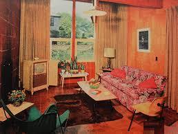 1950S Interior Design Interesting Inspiration Design