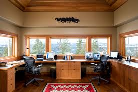Small office architecture Work Space Mountain Architecture Couer D Alene Office Adobe Stock Small Mountain Home Coeur Dalene Mountain Architects Hendricks