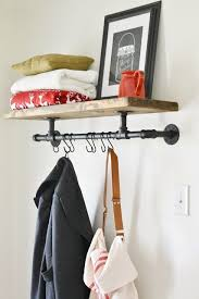 Diy Industrial Coat Rack Impressive DIY Industrial Coat Rack Crafts Pinterest Coat Racks Pipes