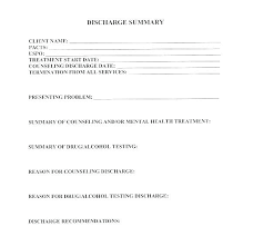 Sample Dismissal Letter Patient Discharge Letter Summary Template 7 Download Free