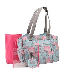 Laura Ashley Floral Diaper Bag: Baby - Amazon.com