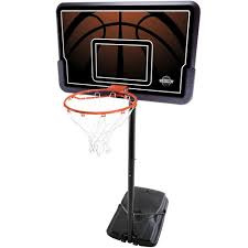 portable impact basketball system