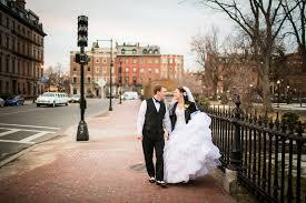 boston wedding portraits in boston mon