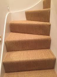 carpet for stairs. sisal carpet to stairs in private residence for