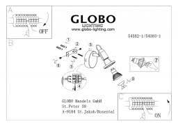 <b>Спот Globo</b> Rail <b>54382-1</b> купить в интернет-магазине Светильник ...