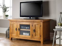 country oak tv unit with glass front summer
