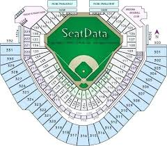 Chase Field Seating Chart Seat Numbers Exact Bank One Ballpark Seating Chart 2019