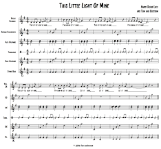 This Little Light Of Mine Sheet Music Free Download This Little Light Of Mine Orff Arrangement Orff