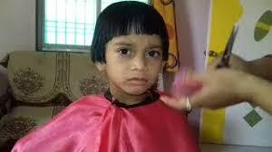 Baby Rasna hair cut