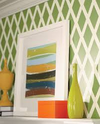 DIY Project: Lattice Wall Pattern