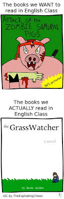 why i hate english class