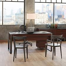 Computer desk office Dual Wilcox Furniture Modern Home Office Desks Computer Desks Bdi Furniture