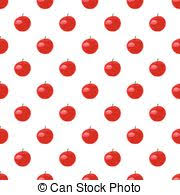 Apple Pattern Extraordinary Red Apple Pattern Pattern With Red Apples In Triangulation Technic
