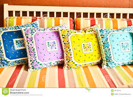colorful pillows. royalty-free stock photo. download colorful pillows