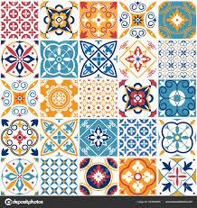 ceramic tiles texture. Vintage Mediterranean Ceramic Tile Texture. Geometric Tiles Patterns And Wall Print Texture