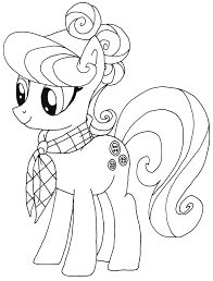 Suri Polomare Kleurplaat My Little Pony Kleurplaten Pinterest