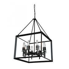 black chandelier lighting. AC10069 Vineyard Chandelier Black Lighting